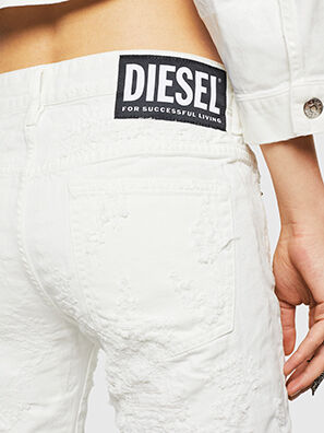 D-Rifty 069GY, Weiß - Jeans