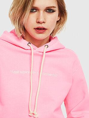 S-GIRK-HOOD-FLUO, Rosa - Sweatshirts