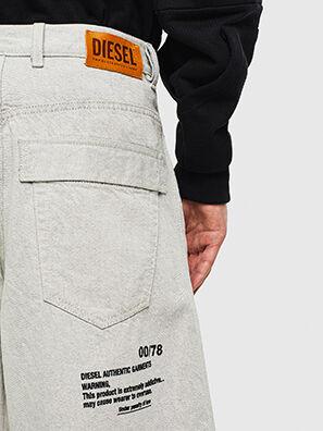 D-RON, Weiß - Kurze Hosen
