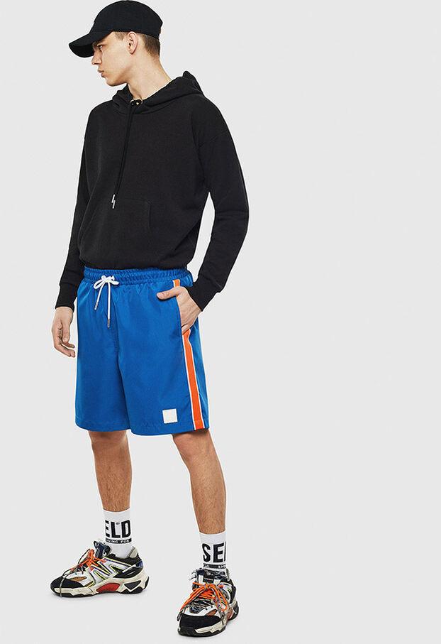 P-KEITH, Blau - Kurze Hosen