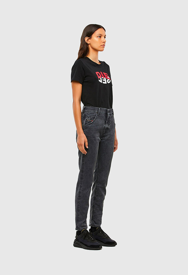Krailey JoggJeans 069QB, Schwarz/Dunkelgrau - Jeans