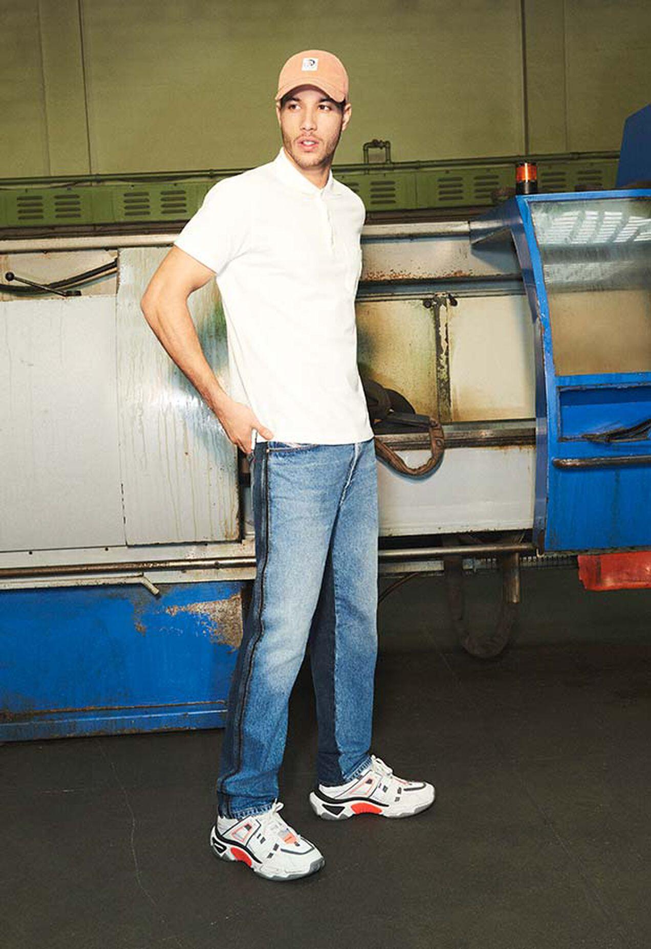 D-Macs 009HX, Mittelblau - Jeans