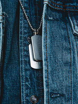 DX1194, Silber - Halsketten