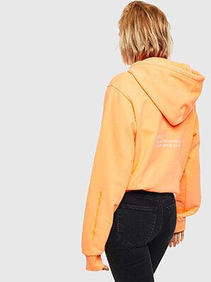 S-GIRK-HOOD-FLUO, Orange - Sweatshirts