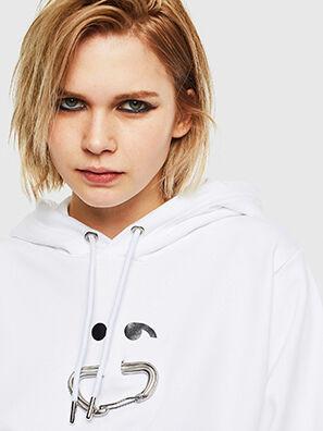 F-ANG-HOOD-S1, Weiß - Sweatshirts