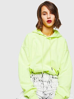 S-ALBY-FLUO, Neongelb - Sweatshirts