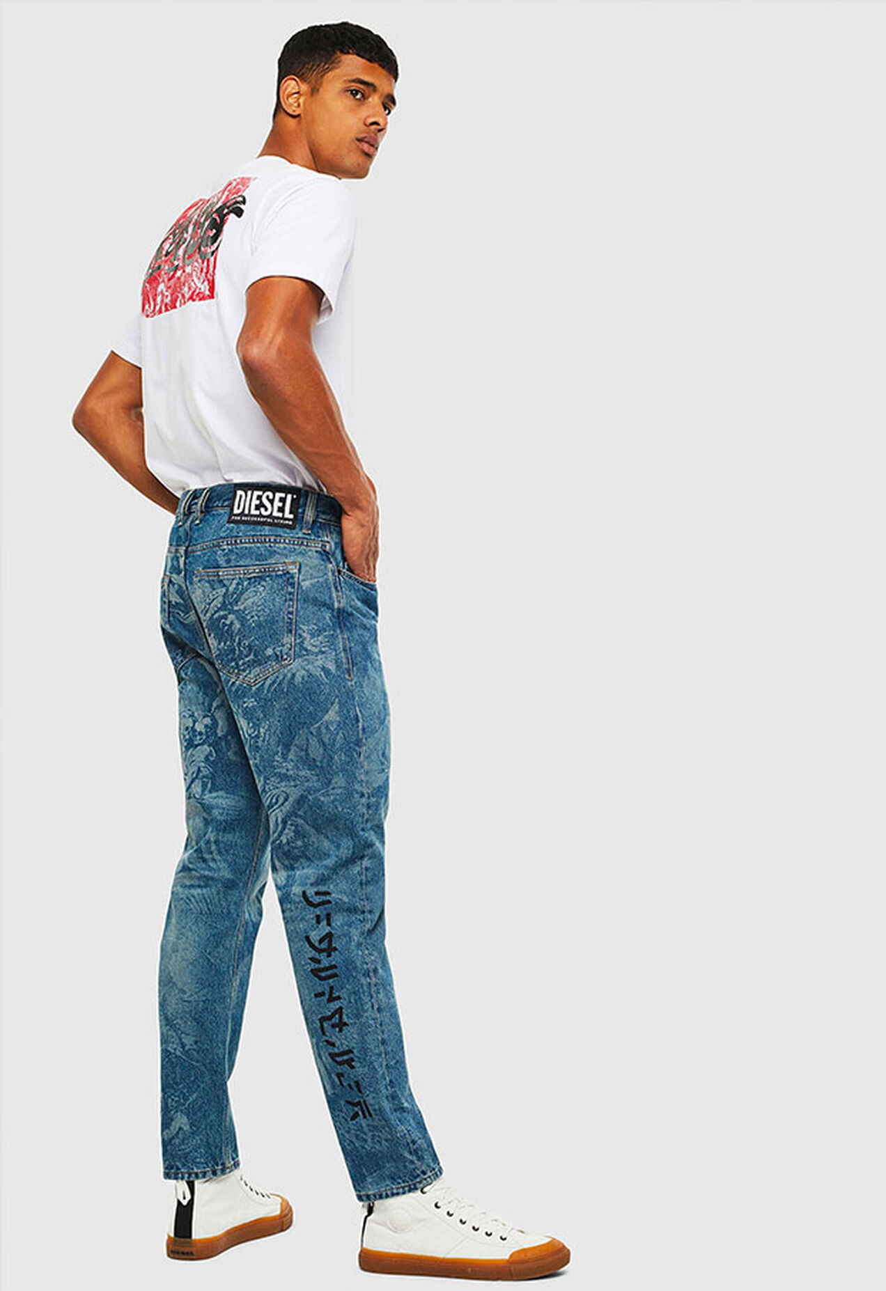 D-Vider 0079D, Mittelblau - Jeans