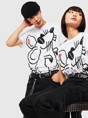 CL-T-DIEGO-2, Weiß - T-Shirts