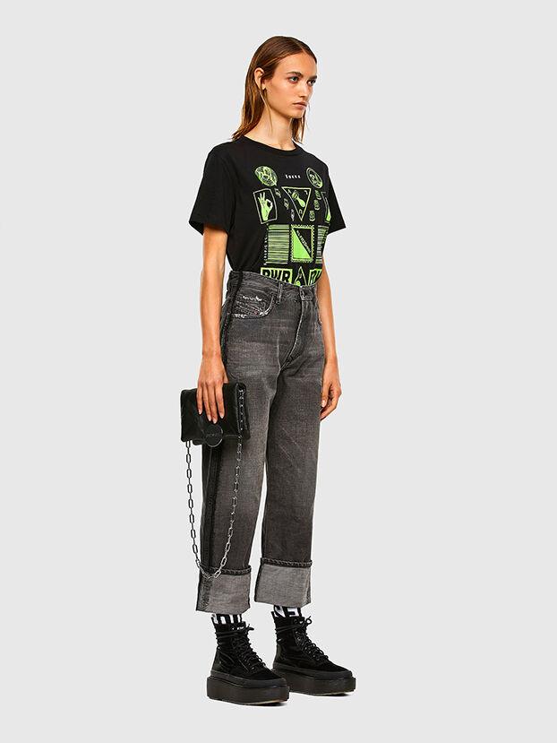 D-Reggy 009IL, Schwarz/Dunkelgrau - Jeans