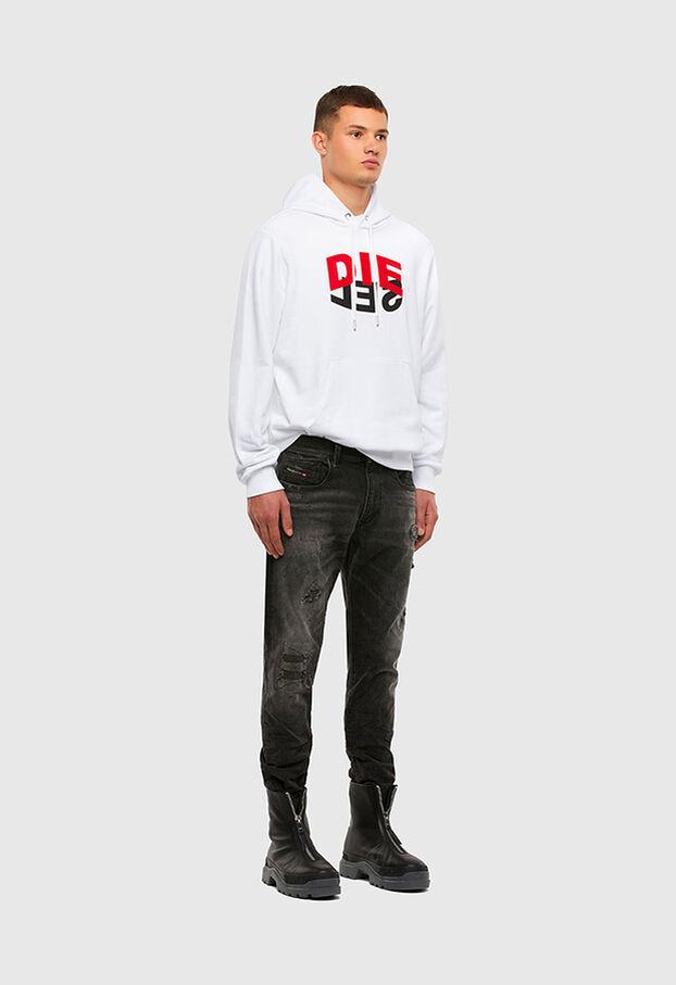S-GIRK-HOOD-N1, Weiß - Sweatshirts