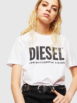 T-DIEGO-LOGO, Weiß - T-Shirts