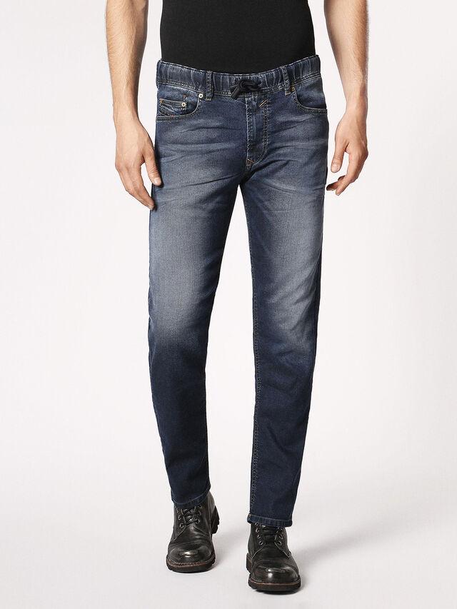 Diesel Waykee JoggJeans 0683Y, Dunkelblau - Jeans - Image 2