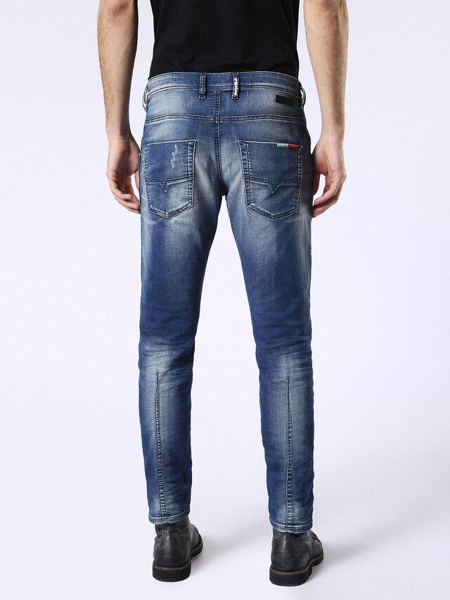 Diesel - Krooley JoggJeans 0680Y, Mittelblau - Jeans - Image 3