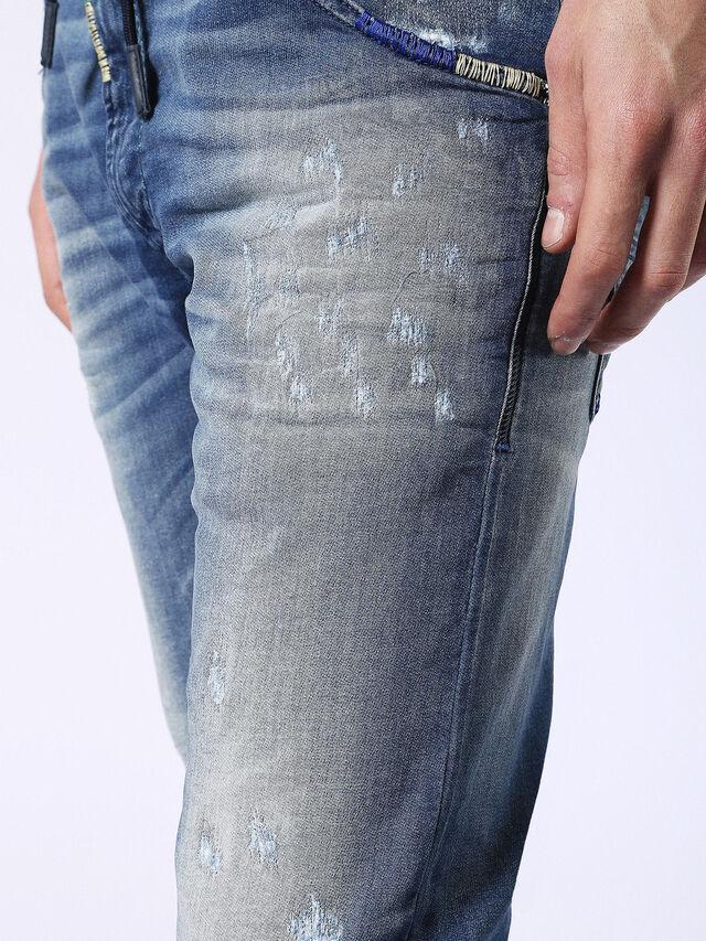 Diesel - Krooley JoggJeans 0680Y, Mittelblau - Jeans - Image 8
