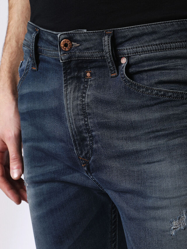 Diesel - Spender JoggJeans 0678L, Dunkelblau - Jeans - Image 4