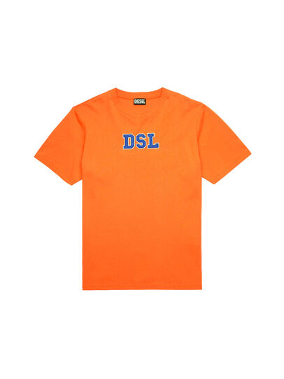 Diesel - T-JUST-B85, Orange - T-Shirts - Image 5