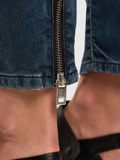 Diesel - Fayza JoggJeans 069PQ, Dunkelblau - Jeans - Image 5