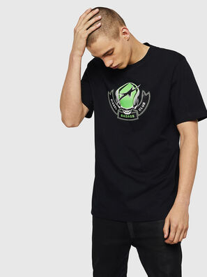 T-JUST-B1, Schwarz - T-Shirts