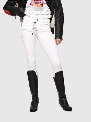 Slandy 086AC, Weiß - Jeans