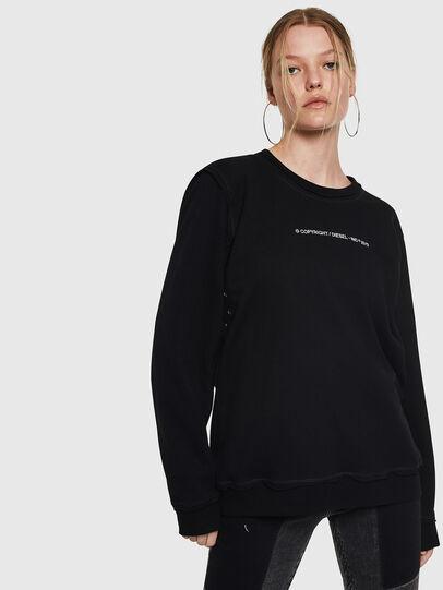 Diesel - F-LYANY-F, Schwarz - Sweatshirts - Image 1