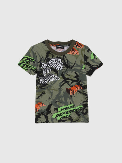 Diesel - TESEOB-R, Armeegrün - T-Shirts und Tops - Image 1