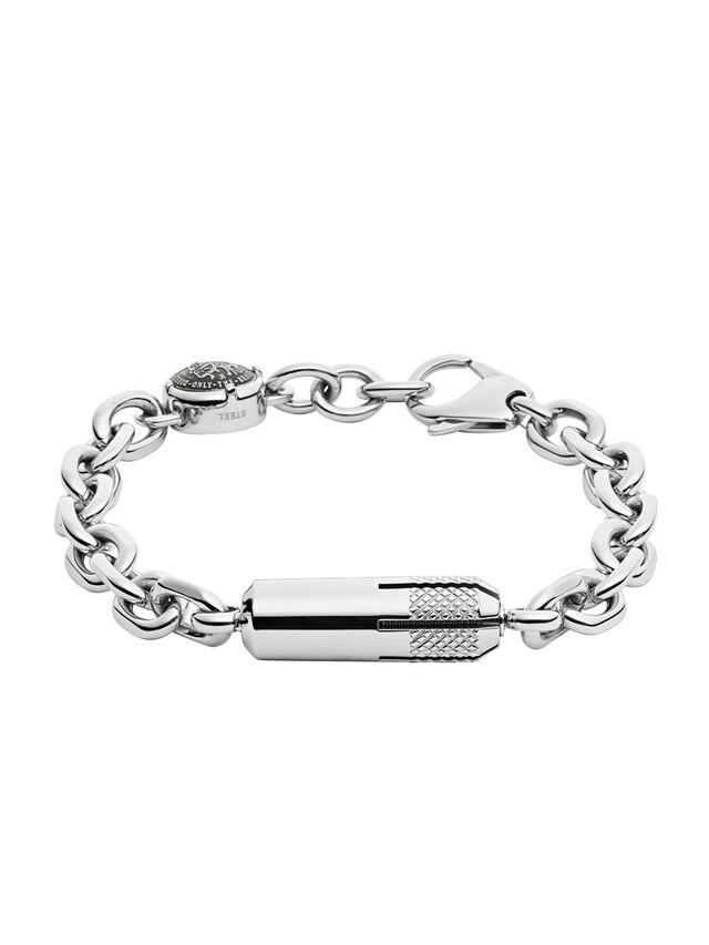 Diesel - BRACELET DX1024, Silber - Armbänder - Image 1