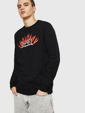 S-GIR-A1, Schwarz - Sweatshirts