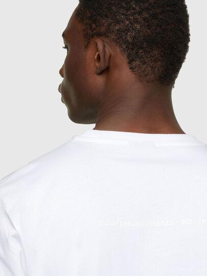 Diesel - T-JUST-A34, Weiß - T-Shirts - Image 4