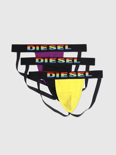 Diesel - UMBR-JOCKYTHREEPACK, Schwarz/Gelb - Jockstraps - Image 1