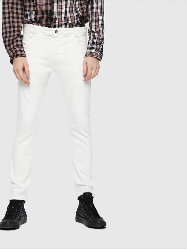 Krooley JoggJeans 088AZ, Weiß - Jeans