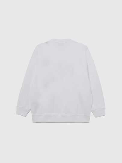 Diesel - SANGWX, Weiß - Sweatshirts - Image 2
