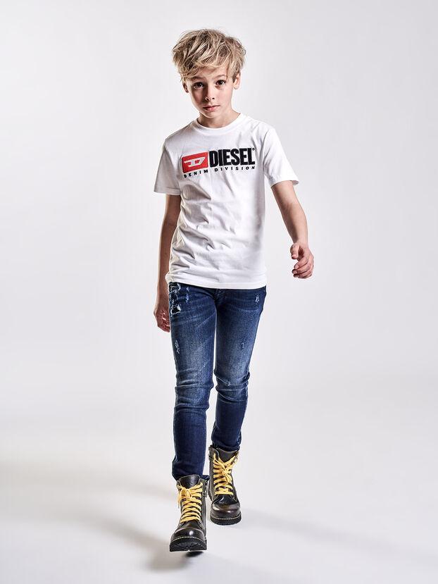 TJUSTDIVISION, Weiß - T-Shirts und Tops