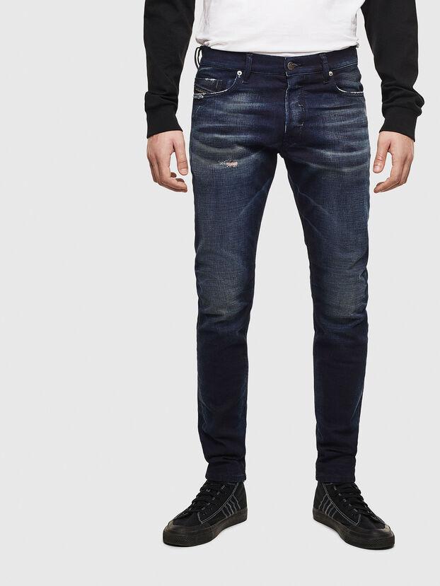 Tepphar 009BL, Dunkelblau - Jeans