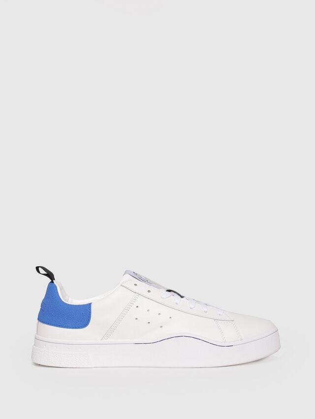 Diesel - S-CLEVER LOW, Weiß/Blau - Sneakers - Image 1