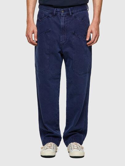 Diesel - D-Franky 0EEAX, Mittelblau - Jeans - Image 1