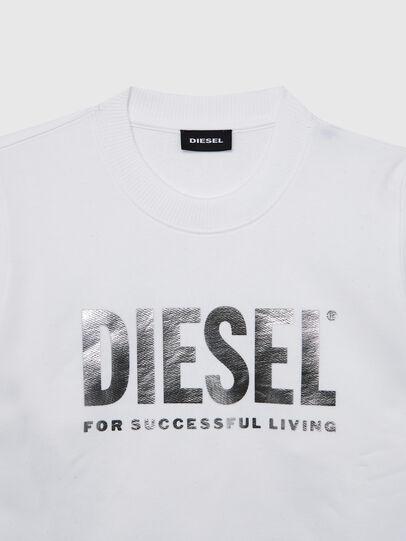 Diesel - SANGWX, Weiß - Sweatshirts - Image 3