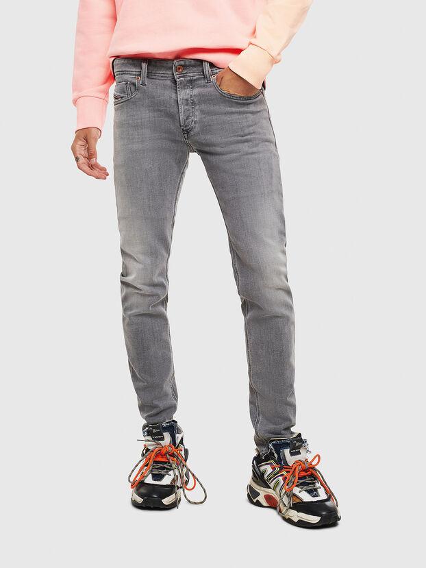 Sleenker 0095E, Schwarz/Dunkelgrau - Jeans