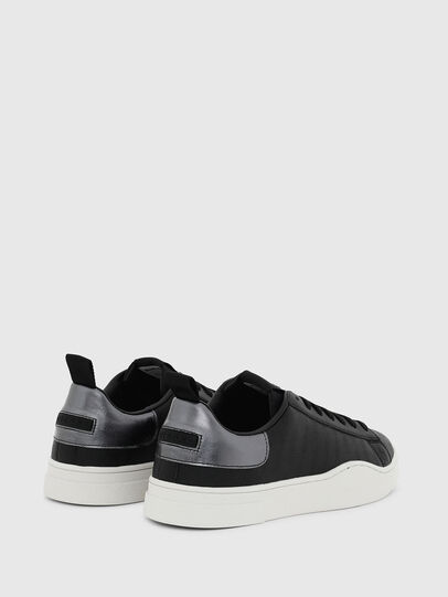 Diesel - S-CLEVER LOW LACE, Schwarz/Silber - Sneakers - Image 3