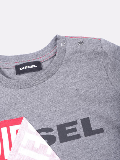 Diesel - TOQUEB, Grau - T-Shirts und Tops - Image 3