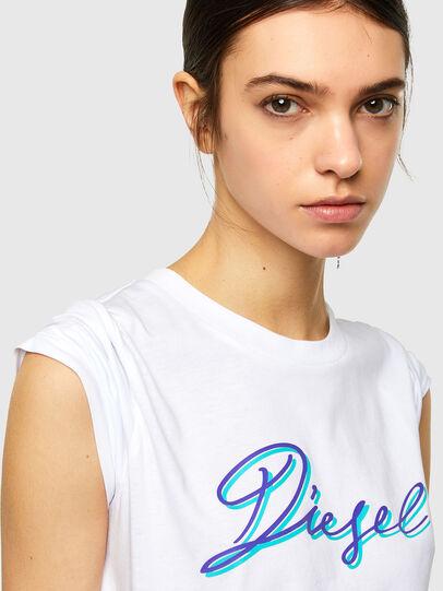 Diesel - T-SILY-K10, Weiß - T-Shirts - Image 3