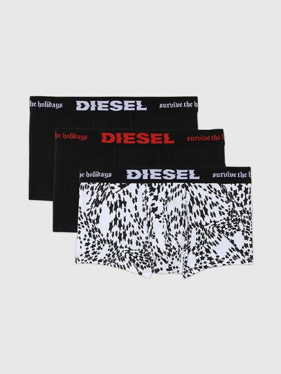 Diesel - UMBX-DAMIENTHREEPACK, Schwarz/Weiss - Boxershorts - Image 1