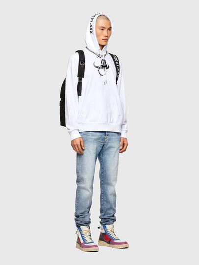 Diesel - CL-S-GIRK-HOOD-O, Weiß - Sweatshirts - Image 5