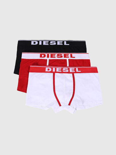 Diesel - UMBX-DAMIENTHREEPACK, Weiß/Rot - Boxershorts - Image 1