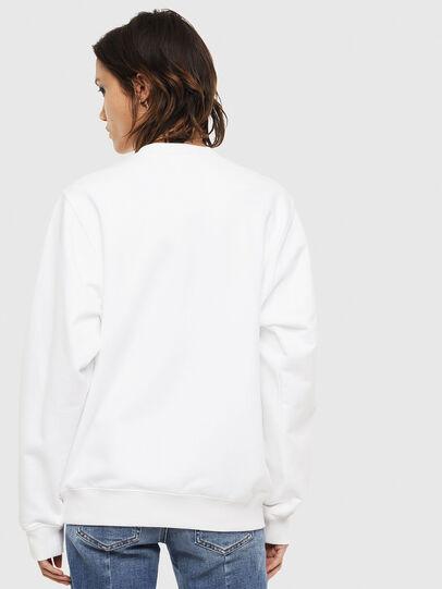 Diesel - F-ANG-S2, Weiß - Sweatshirts - Image 2