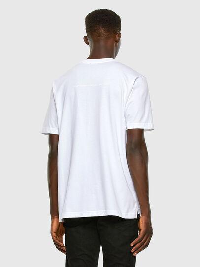 Diesel - T-JUST-SLITS-X83, Weiß - T-Shirts - Image 6
