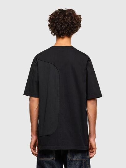 Diesel - T-BLAST, Schwarz - T-Shirts - Image 2