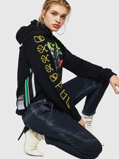 Diesel - Fayza JoggJeans 069HY, Dunkelblau - Jeans - Image 4