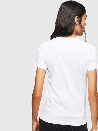 Diesel - T-SILY-ZF, Weiß - T-Shirts - Image 2