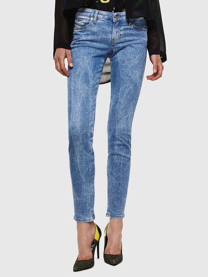 Diesel - Gracey JoggJeans 0870P, Hellblau - Jeans - Image 1