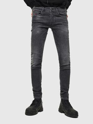 Sleenker 069JR, Schwarz/Dunkelgrau - Jeans